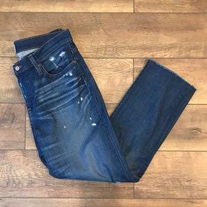 J. Crew | Slim Boyfriend Distressed Jeans | 30